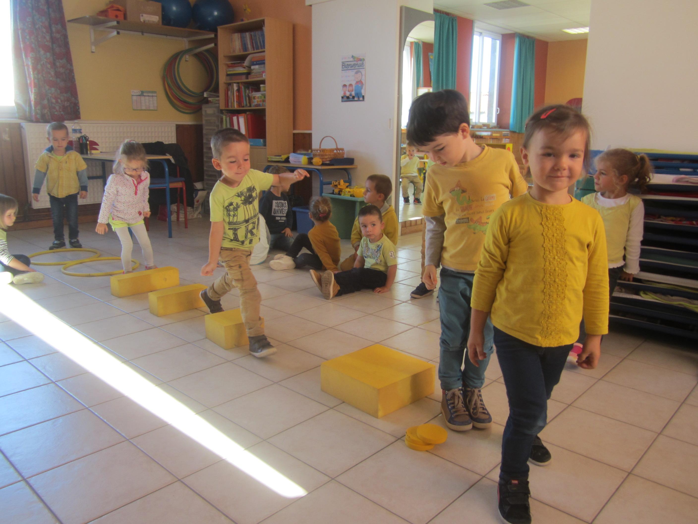 Parcours jaune